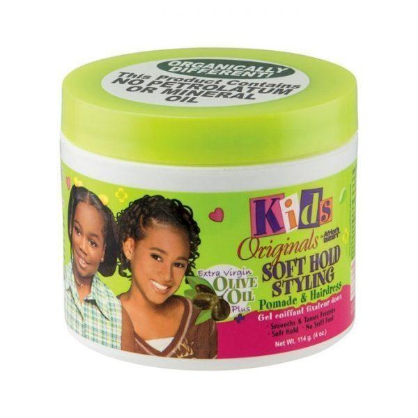 Kids Originals By Africa's Best Soft Hold Styling Pomade & Hairdress 4oz