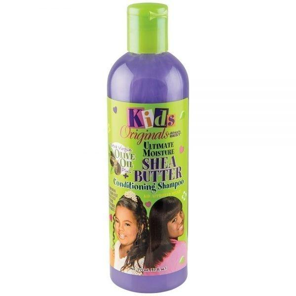 Kids Originals By Africa's Best Ultimate Moisture Shea Butter Conditioning Shampoo 12oz