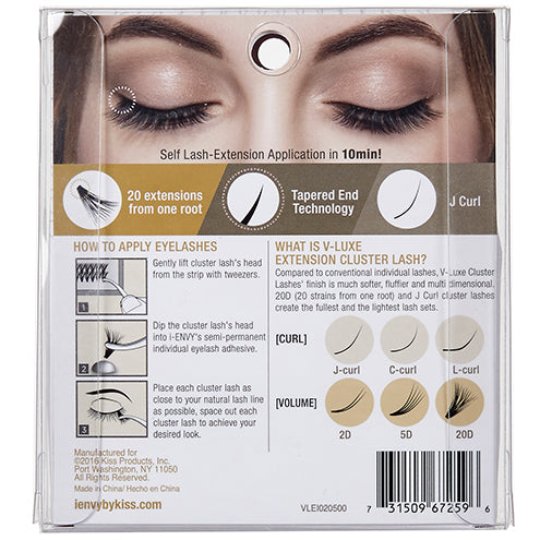 V-Luxe by I Envy Extension Cluster Medium Eyelashes