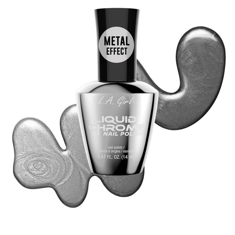 L A Girl Liquid Chrome Nail Polish