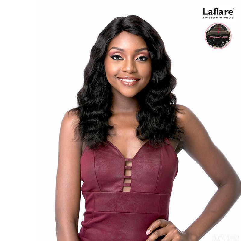 Laflare 100% Human Hair Virgin Remy Brazilian Swiss Lace Wig Chanelle
