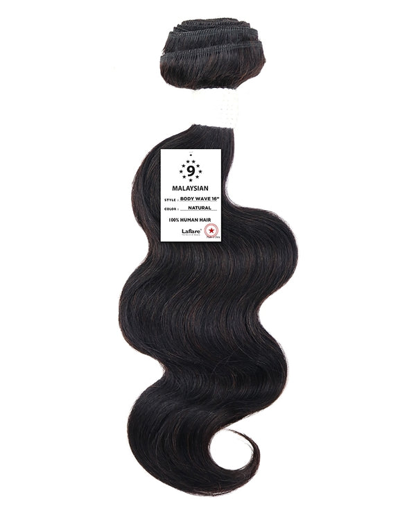 Laflare Malaysian Unprocessed 100% Virgin Human Hair Weave Body Wave