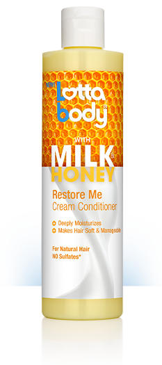 Lottabody Milk & Honey Restore Me Cream Conditioner 10.1oz