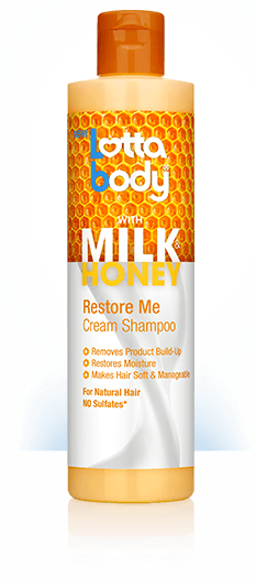 Lottabody Milk & Honey Restore Me Cream Shampoo 10.1oz