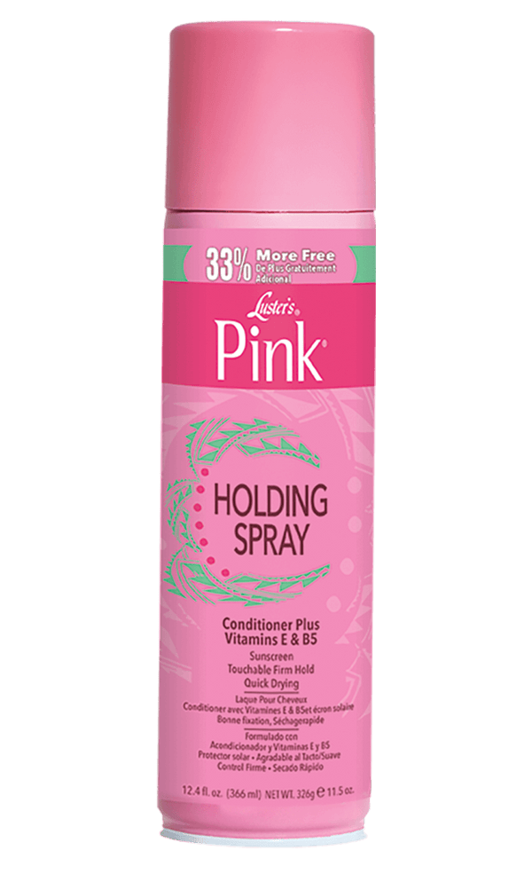 Luster's Pink Holding Spray 12.4oz