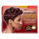 Luster's Shortlooks Colorlaxer 3-N-1 Semi-Permanent Color Relaxer Passion Red