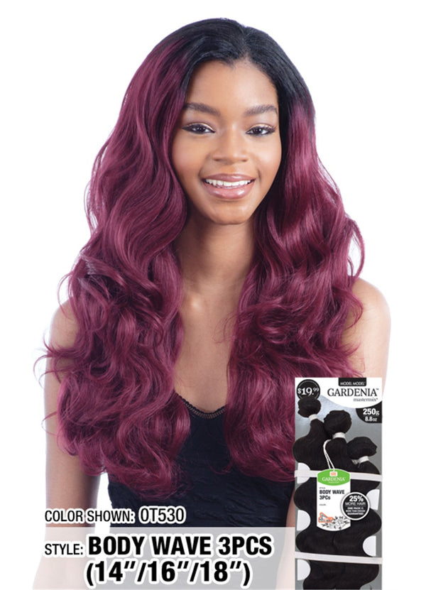 "Model Model Gardenia Mastermix Weave Body Wave 3Pcs 14"" 16"" 18"""