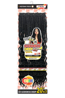 Motown Tress True 3X Goddess Deep Braid 20""
