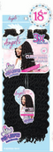 Motown Tress Angels 3X Feather Lite Pre-Looped Synthetic Hair Crochet Braid Curly Faux Locs 18""