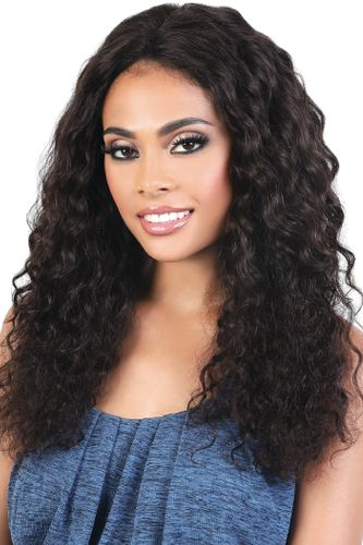 Motown Tress Aqua 10A Wet & Wavy 100% Unprocessed Virgin Brazilian Human Hair Deep Wave 3 Pack