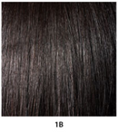 Janet Collection Noir Everytime Synthetic Hair Drawstring Ponytail Berry