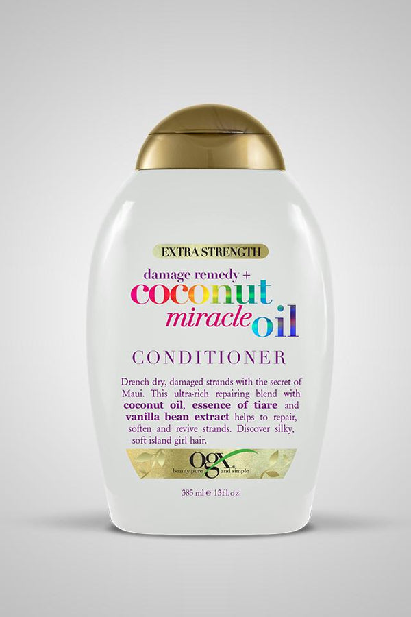 OGX Extra Strength Damage Remedy + Coconut Miracle Oil Conditioner 13oz