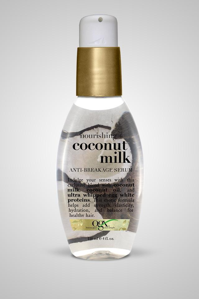 OGX Nourishing + Coconut Milk Anti-Breakage Serum 4oz