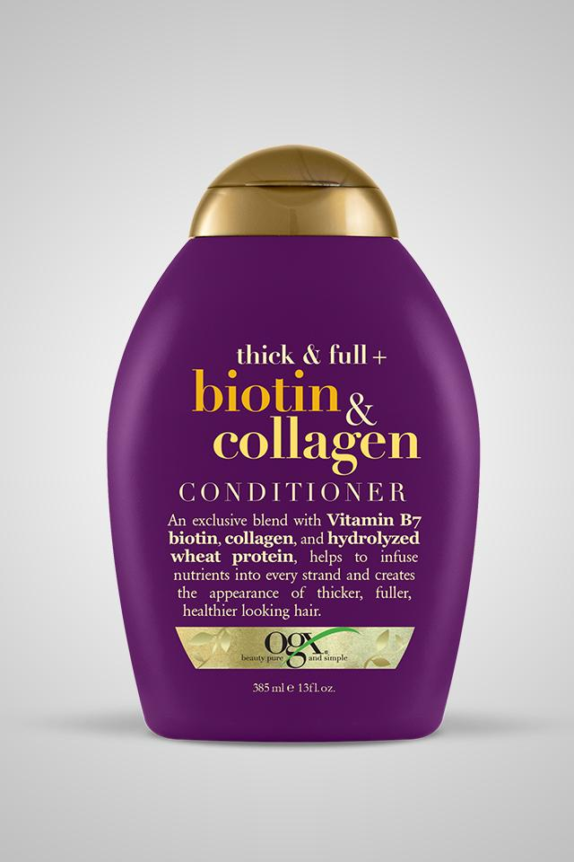 OGX Thick & Full + Biotin & Collagen Conditioner 13oz