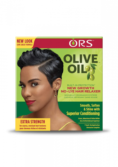 ORS Olive Oil New Growth No-Lye Hair Relaxer Extra Strength