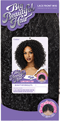 Outre Big Beautiful Hair Synthetic Hair Lace Front Wig 3B Rhythm Ringlets