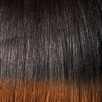 Outre Premium Purple Pack 100% Human Hair Weave Yaki Straight 16""