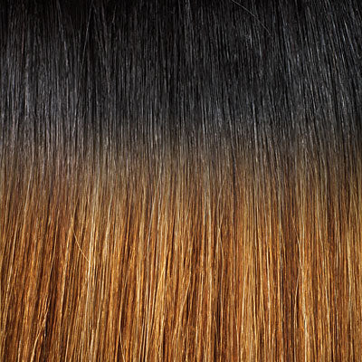 Outre Premium Purple Pack 100% Human Hair Weave Yaki Straight 18""