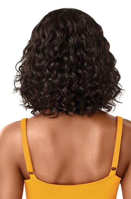 Outre The Daily Wig 100% Unprocessed Human Hair Lace Part Wig Curly Bob 12""