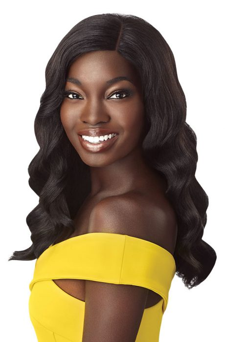 Outre The Daily Wig Synthetic Hair Lace Part Wig Yvonne