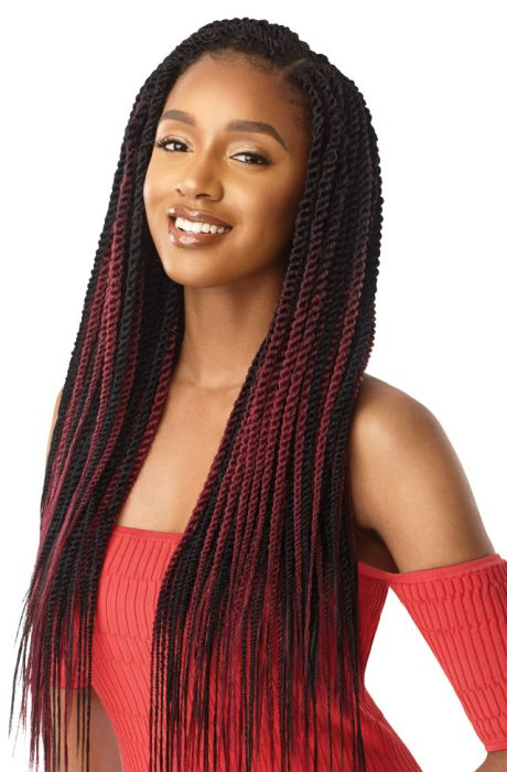 Outre X-Pression Senegal Twist Medium Natural Tip 45 Strands 20""