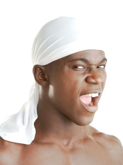 King J Extra Long Tie Du-Rag Assort
