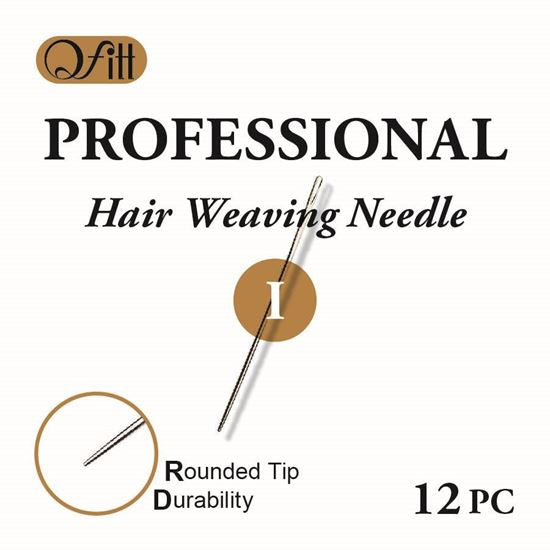 Qfitt Professional Hair Weaving Needle 12Pcs