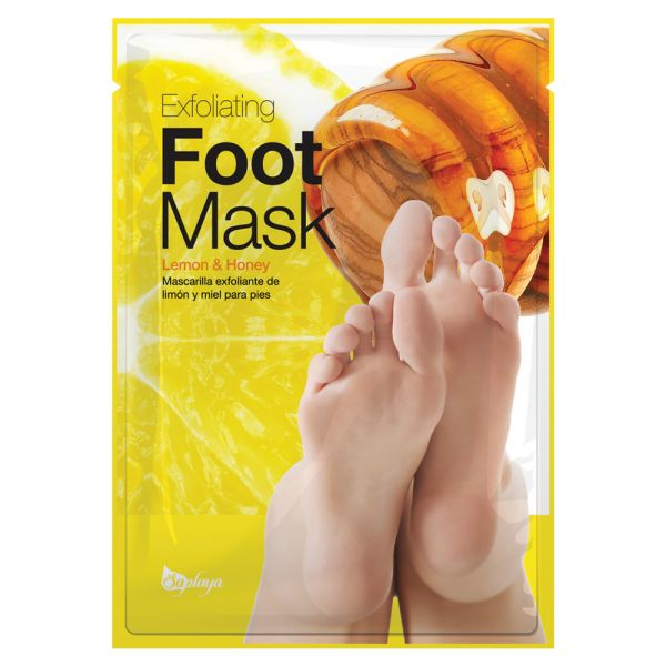 Saplaya Exfoliating Lemon & Honey Foot Mask