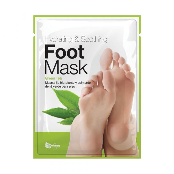 Saplaya Hydrating & Soothing Green Tea Foot Mask