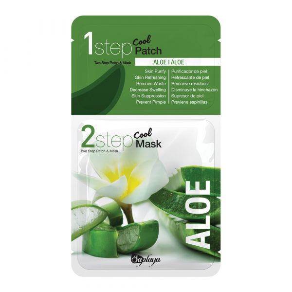 Saplaya Two Step Aloe Patch & Mask