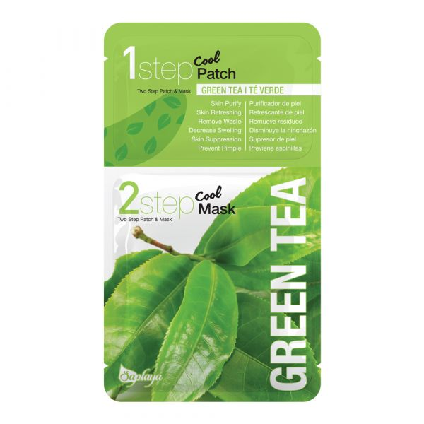 Saplaya Two Step Green Tea Patch & Mask