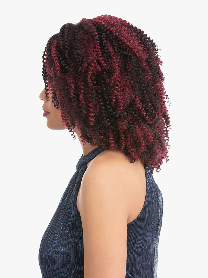 Sensationnel African Collection 3X Pre-Looped Crochet Braid Temptation Curl 8""