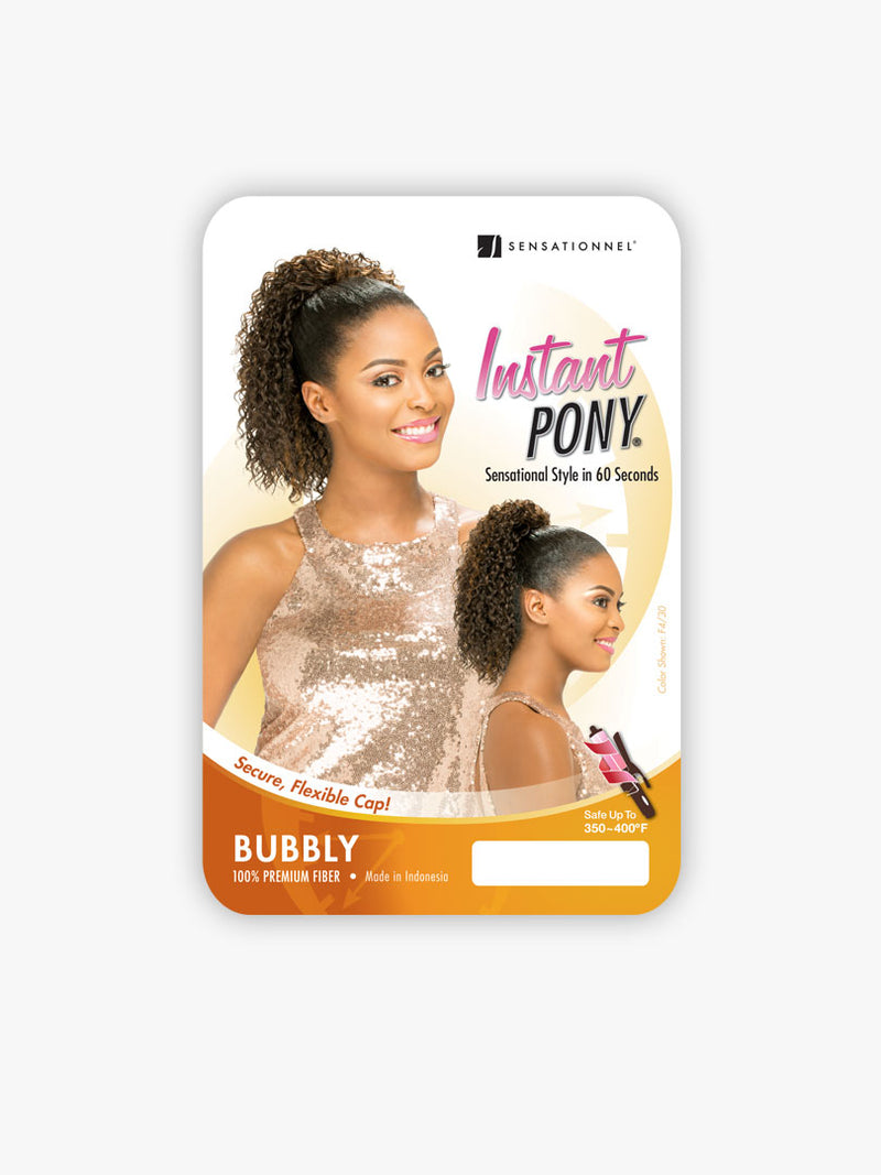 Sensationnel Instant Pony Synthetic Hair Drawstring Ponytail Bubbly