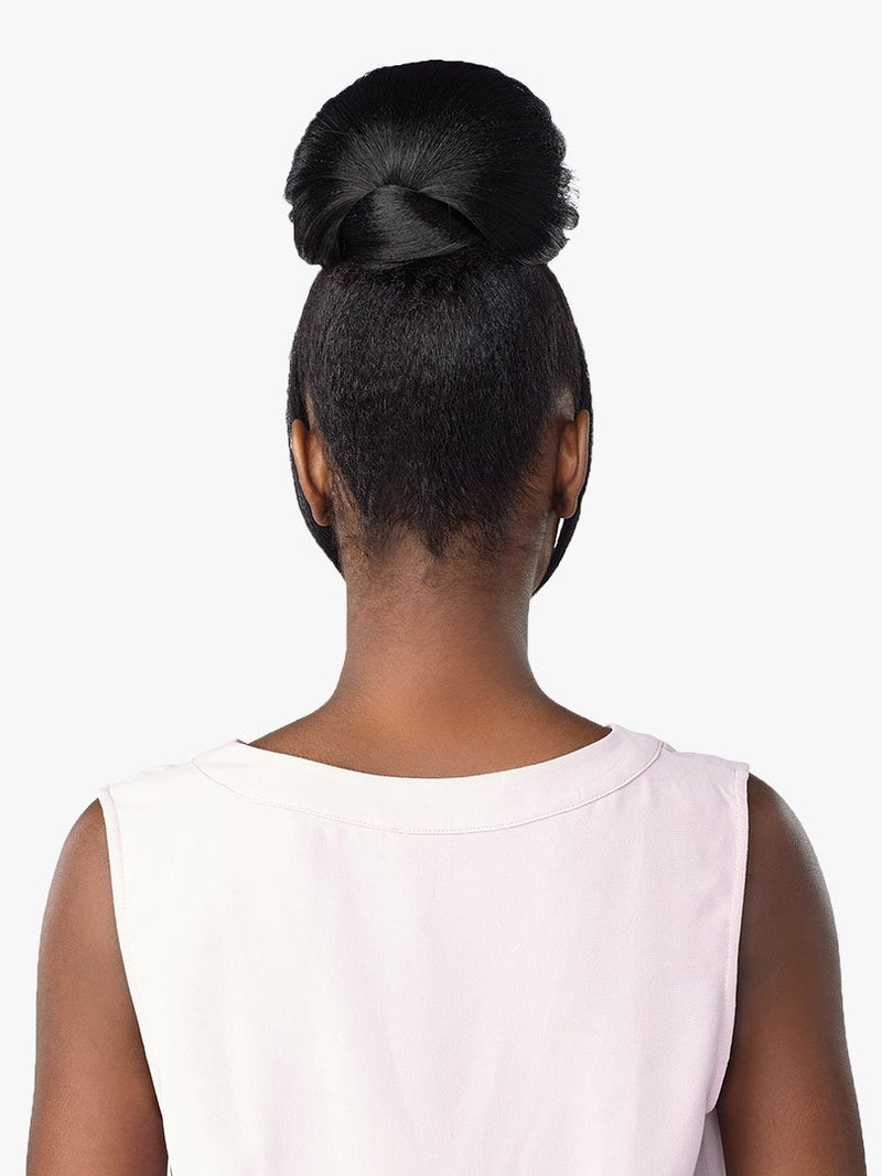 Sensationnel Synthetic Hair Instant Bun With Bangs Haylie