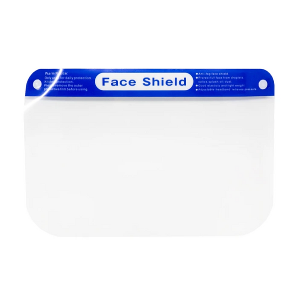Sistar Cosmetics Reusable Clear Plastic Face Shield