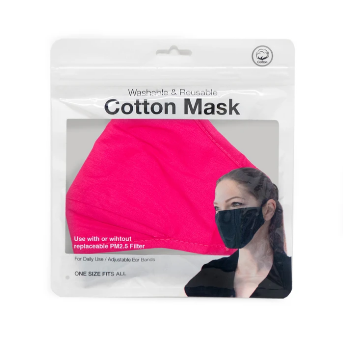 Sistar Cosmetics Washable & Reusable Filtration Cotton Face Mask