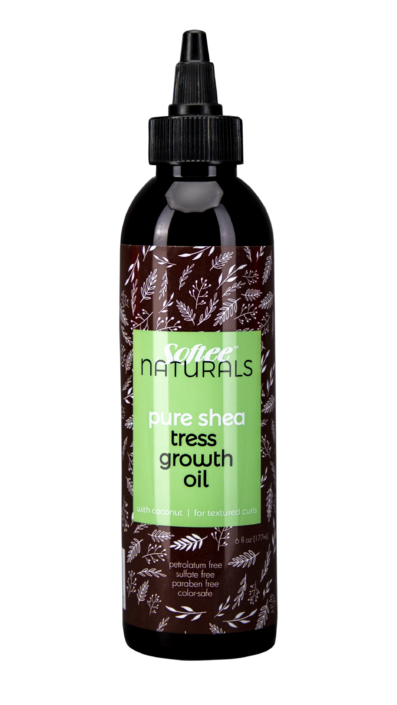 Softee Naturals Pure Shea Tress Growth Oil 6oz
