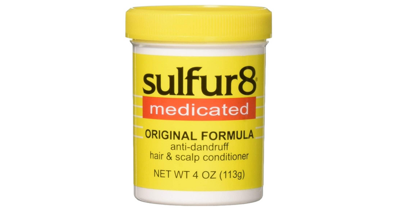 Sulfur8 Medicated Anti-Dandruff Hair & Scalp Conditioner Original Formula 4oz