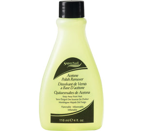 SuperNail Acetone Polish Remover 4oz