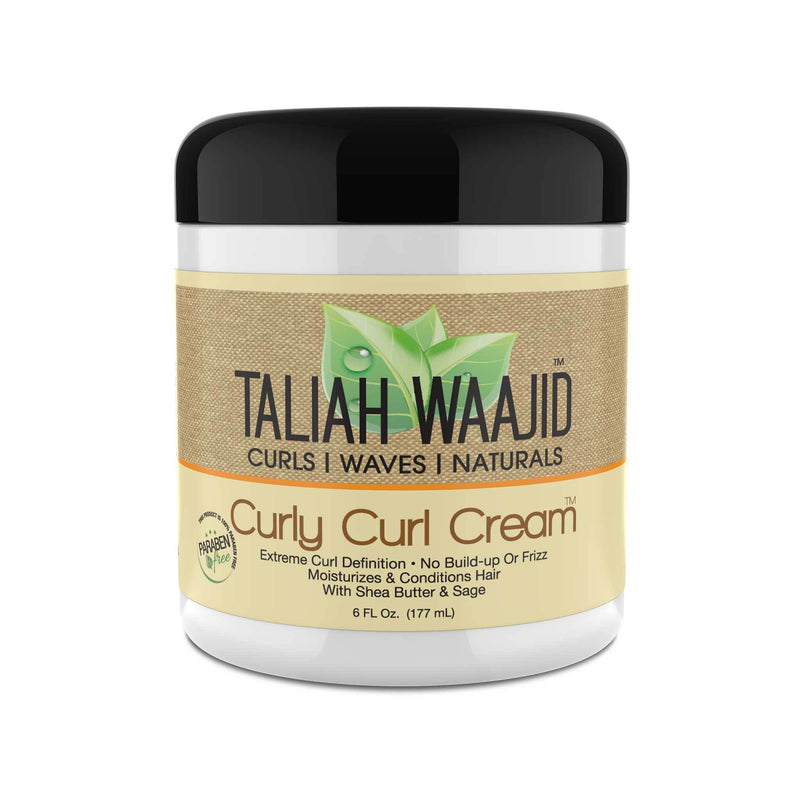 Taliah Waajid Curls, Waves & Naturals Curly Curl Cream 6oz