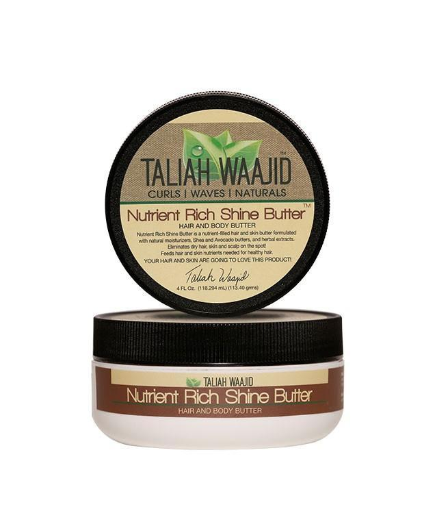 Taliah Waajid Curls, Waves & Naturals Nutrient Rich Shine Butter Hair And Body Butter 4oz