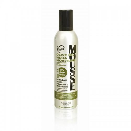 Vigorol Olive Oil Mega Moisture Mousse 12oz