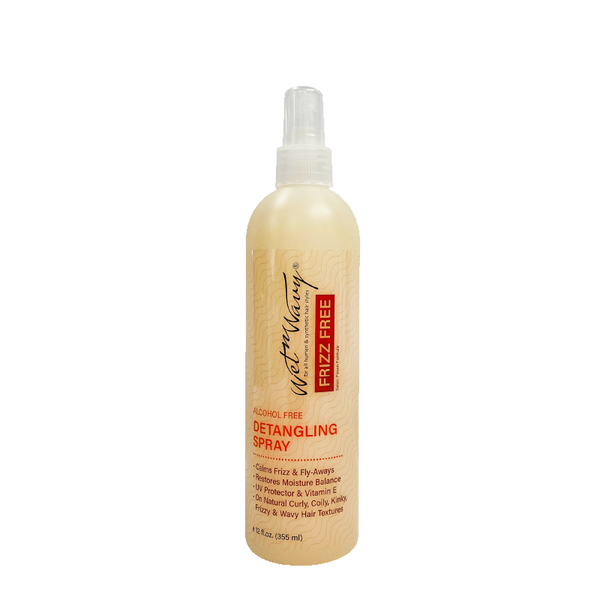 Wet-N-Wavy Frizz Free Detangling Spray 12oz