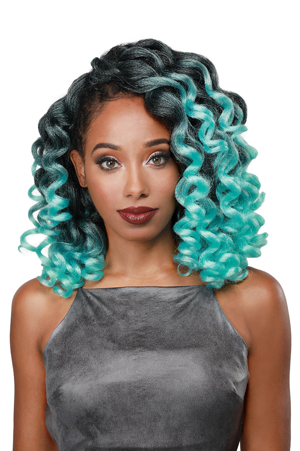 Zury Naturali Star V8910 Synthetic Hair Crochet Braid Kongo Curl
