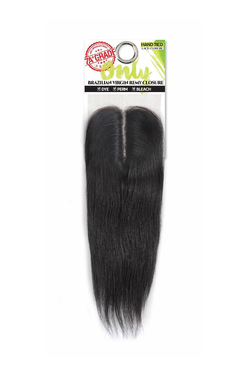Zury Only 7A Brazilian Virgin Remy Human Hair Lace Closure Straight