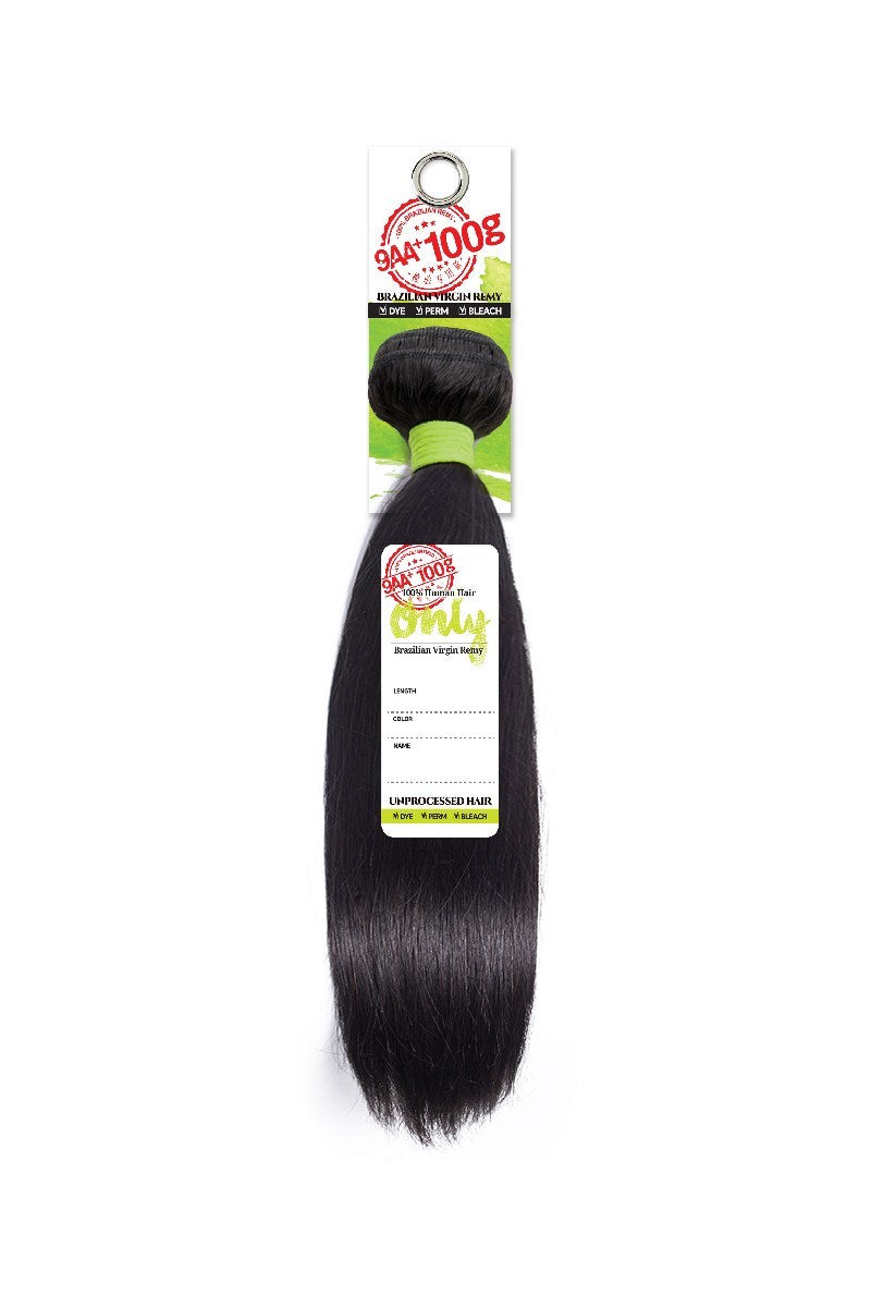 Zury Only 9AA+ Brazilian Virgin Remy Human Hair Straight