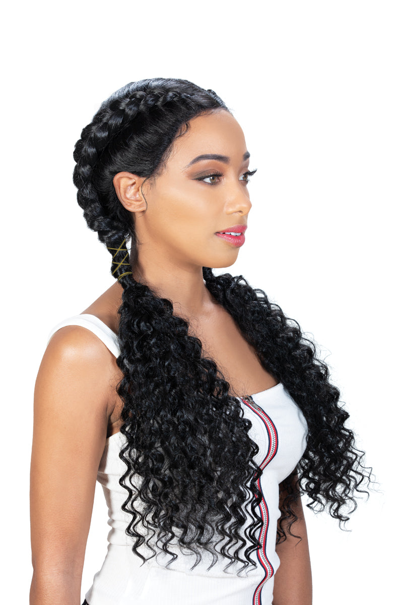 Zury Sis 360 Lace Double Dutch Box Braid Synthetic Hair Lace Wig 360-DD LACE H RIMI