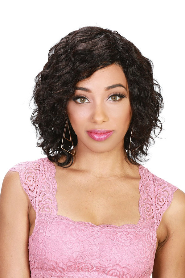 Zury Sis Brazilian Human Hair Wet & Wavy Wig HR-BRZ WW ECO