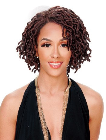 Zury Sis Faux Locs Wig Synthetic Hair Lace Wig LOC-LACE WELLA