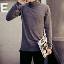 Load image into Gallery viewer, Fashion Mens Casual Slim Plain Long Sleeve Men Sweaters